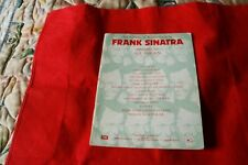An Album Of Songs By Frank Sinatra Arranged for All Organ Sheet Music Book
