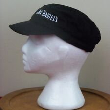 Jack Daniels Pageboy Newsboy Military Hat Whiskey One Size