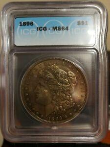US Morgan Silver 1896  - MS64
