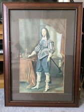 Vintage Large Print of King Charles the First.