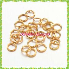 5mm 150 pcs Gold Plated Jump Rings Jewelry Findings Open Split Earring Necklace