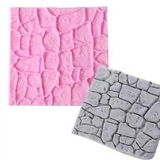 Stone Silicone Fondant Mould Cake Decorating Border Icing Emboss Mold Sugarcraft