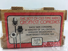 The Best of Old Time Radio Greatest Comedies - Collection of 6 Cassette Tapes
