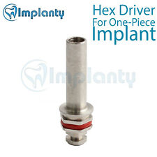 Hex Driver For One-Piece Implant Dental Fit AB Alpha Bio MIS Zimmer Adin