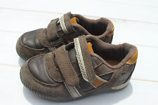 CHEROKEE BOYS CASUAL BROWN VECRO SHOES TODDLER 8 GUC SUEDE FAUX LEATHER TARGET