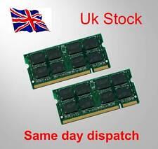 2GB 2 x 1 GB 2 GB di memoria RAM per HP Pavilion DV8000 DDR2
