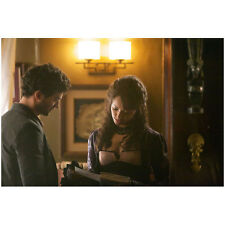 The Vampire Diaries Kat Graham Reading Book with David Alpay 8 x 10 inch Photo