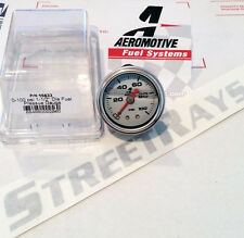 Aeromotive Fuel Pressure FPR Gauge 0-100 psi 15633 (New Liquid Filled Ver)