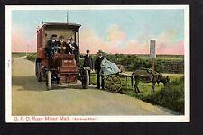 Ruan MInor - G.P.O. Ruan Minor Mail - colour printed postcard