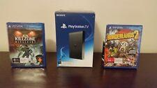 Sony PlayStation TV Black 1 GB Console + Games