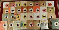 "Lot Of 85 Promo 7"" 45s - 1960's -1970's - High Grade - Rock Pop R&B"