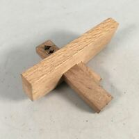 Japanese Woodworking Marking Guide Gauge Vtg Kebiki Carpentry Tool K387