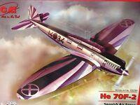 KIT MAQUETA HE 70F-2 SPANISH AIR FORCE RECONNAISSANCE PLANE 1:72 ICM 72231