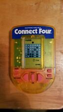 Vintage Connect Four Handheld Electronic Game 1995 Milton Bradley Tested Works.