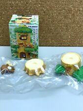 Rilakkuma of forest [1.Relax and Korilakkuma (tree honey)] miniature figure toy