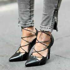Zara Slim Lace-up Shoes for Women