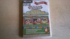 KID'S ACADEMY : KEY STAGE 2 TRIPLE PACK - PC EDUCATIONAL GAME SOFTWARE - NEW