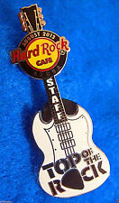 ARUBA STAFF TOP OF THE ROCK SG GIBSON HENDRIX GUITAR '13 Hard Rock Cafe PIN LE65