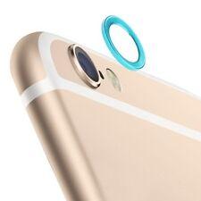 para Apple iPhone 6 4.7 Accesorio Cámara protección Azul ANILLO ALTO VALOR NUEVO