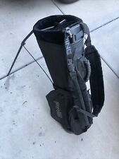 Ping Hoofer 3 Stand/Carry Bag 4-Way Dual Straps Black