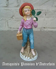 B201673 - Figurine en biscuit de porcelaine 1950-70 - 19 cm de hauteur