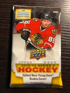 2013-14 Upper Deck Series 2 Hockey Hobby Sealed Pack (possible Kucherov RC)