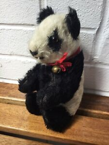"Vintage Merrythought Panda. 8"" C.1940. Antique/Old"