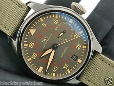 IWC Ceramic Big Pilot's Watch TOP GUN Miramar Military IW501902 7 Days