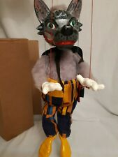 Pelham puppets Wolf  1963 Animal Range