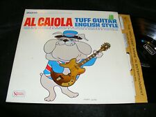 AL CAIOLA Guitar Mood Rarity TUFF GUITAR ENGLISH STYLE Stereo LP BEATLES SONGS