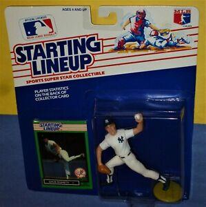 1989 DAVE RIGHETTI New York NY Yankees NM+ #19 * FREE s/h * Starting Lineup