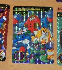 ROCKMAN WORLD 5 MEGAMAN CARD PRISM HOLO CARTE 170 MADE IN JAPAN 1994 CAPCOM **