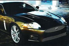 2008 Jaguar XK XKR XK8 64-page Canada Car Sales Brochure Catalog  English French