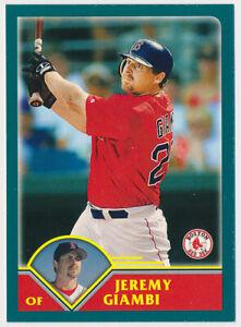 2003 Jeremy Giambi Topps Kanebo Japanese Baseball Card #102 Boston Red Sox