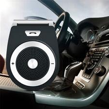 Wireless Bluetooth Multipoint Handsfree Speakerphone Speaker Kit Car Sun Visor