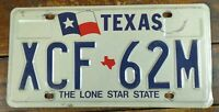 1994 License Tag Texas TX Metal License Plate Lone Star State Red White Blue