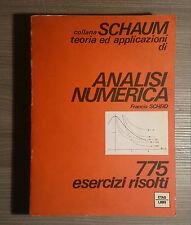 francis scheid : analisi numerica - schaum - etas libri 1975