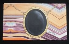 Mox Jet MTG Play Mat SIGNED by Dan Frazier OFFICIAL Wizards Magic Gathering