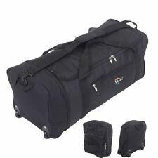 XL Extra Large 30 Inch Wheeled Travel Luggage Suitcase Holdall Case Folding Bag
