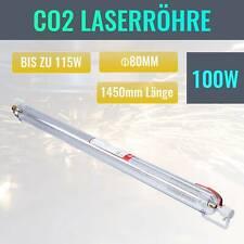 100W - 115W CO2 Laserröhre Laser Tube Laserröhre 1450MM für Lasergravur Maschine