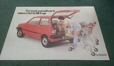 1983 / 1984 DAIHATSU DOMINO 3 DOOR - UK LEAFLET BROCHURE