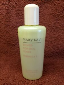 Mary Kay 1065 Blemish Control Toner Discontinued Basic Skin Care Formula 3 acne