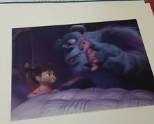 monsters inc lithograph