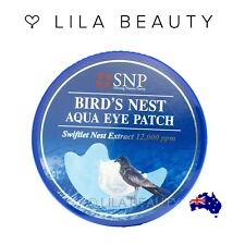 SNP Bird's Nest Aqua Ampoule Mask Sheet 10ea Eye Patch 60ea
