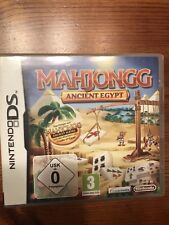 Nintendo DS juego al mahjong Ancient Egypt en Org. Nintendo funda como nuevo