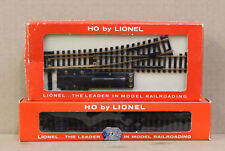 LIONEL HO # 0909 12 STRAIGHT TRACK, 0921 PAIR OF REMOTE CONTROL SWITCHES - BOXED