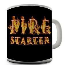 Fire Starter Funny Design Novelty Gift Coffee Tea Mug