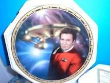 Admiral Kirk & Uss Enterprise Ncc-1701-A the Power of Command Plate Collection