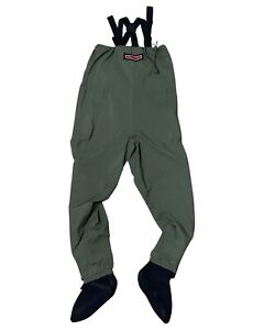 Redington Fishing Chest Waders Green Overalls Men's Size L