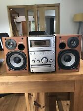 Sony CMT-CPX1 Micro Hi-Fi Component System - CD & Tape Player With Speakers